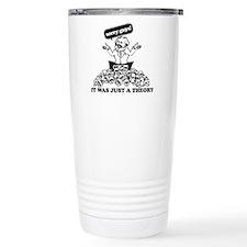 Karl Marx Clear copy Travel Mug