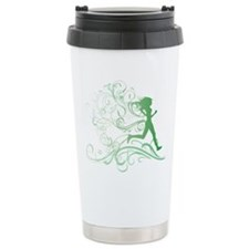 green_runner_girl Travel Mug