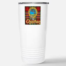 chattan tartan 10x10 Stainless Steel Travel Mug