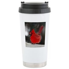 3-Windblown Cardinal 01 Travel Mug