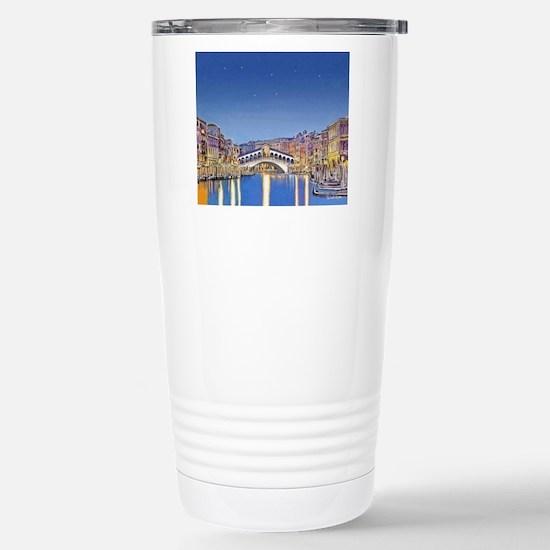Stars over Venice mp Stainless Steel Travel Mug