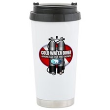 Cold Water Diver (ST) Travel Coffee Mug