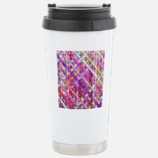 Girly Abstract Lattice  Stainless Steel Travel Mug
