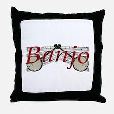 Banjo Throw Pillow