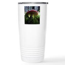 redmushroomlapelsticker Travel Mug