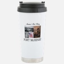 ABH Fort McHenry Stainless Steel Travel Mug