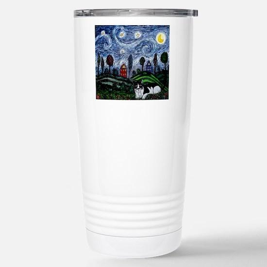 thinking of stars mspad Stainless Steel Travel Mug