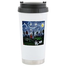 thinking of stars mspad Travel Coffee Mug