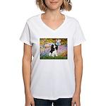 Garden & Tri Cavalie Women's V-Neck T-Shirt