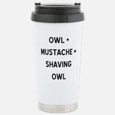 owl.gif Stainless Steel Travel Mug