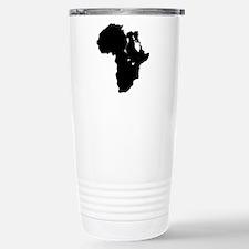 Africa and Man Travel Mug