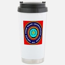 2-Seal of the Indian Cr Stainless Steel Travel Mug