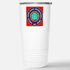 2-Seal of the Indian Cr Travel Mug