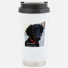 Puppy head image Stainless Steel Travel Mug