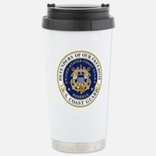 USCGR-Defending-Freedom Stainless Steel Travel Mug