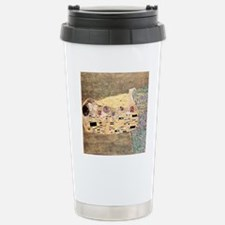 The_Kiss_Gustav_Klimt_2 Travel Mug