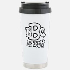 bbqisluv_BW Stainless Steel Travel Mug