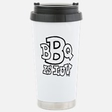 bbqisluv_BW Thermos Mug