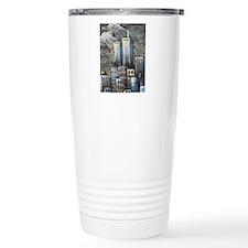 Twin Towers graff II Travel Mug