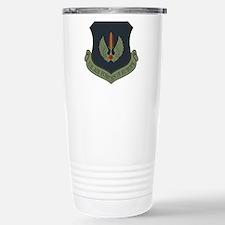 2-USAF-USAFE-Shield-Sub Stainless Steel Travel Mug