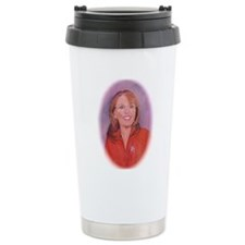 Run, Sarah, Run - Oval Travel Coffee Mug