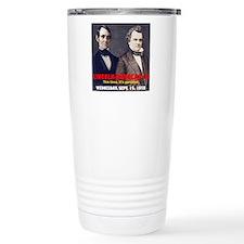 ART LINCOLN DOUGLASS II Travel Mug