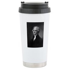 Thomas Jefferson by HB  Travel Mug