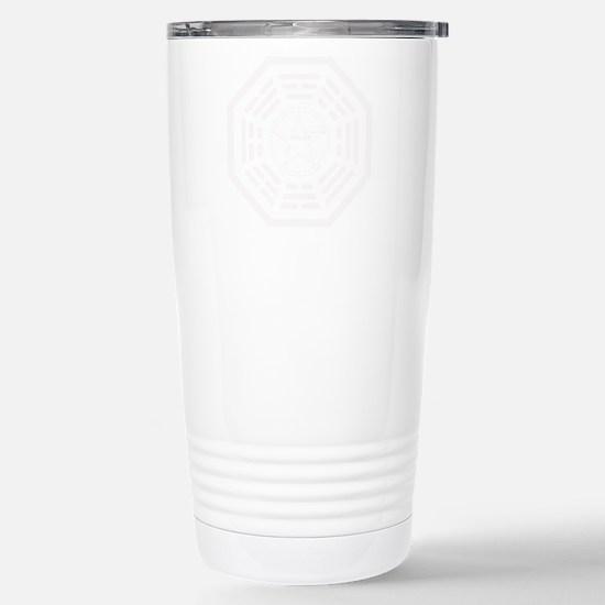 LaFleur-white Stainless Steel Travel Mug