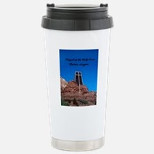 Chapel of the Holy Cros Stainless Steel Travel Mug