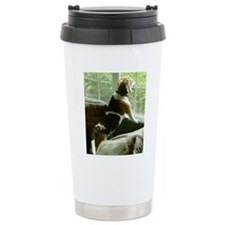 Window gazing Travel Mug