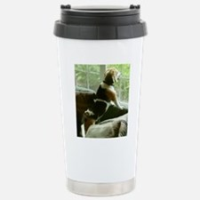 Window gazing Travel Mug