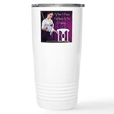 Cafe design mouse pad c Travel Coffee Mug