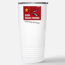 shark-finning-dogs Travel Mug
