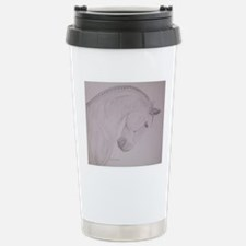Blue Steel Stainless Steel Travel Mug