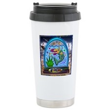 Mermaid in Florida Glob Travel Mug