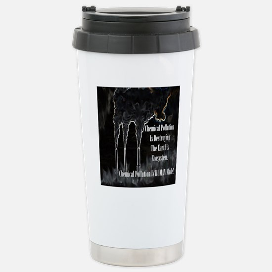 pollution copy Stainless Steel Travel Mug