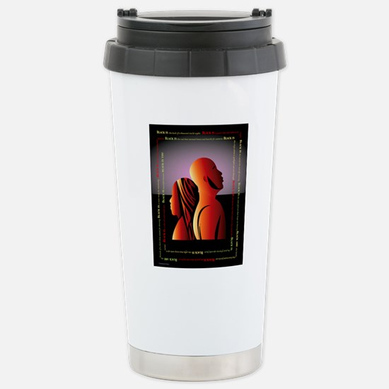 blackis10x10 Stainless Steel Travel Mug
