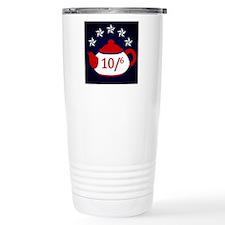TeaParty-Button Travel Coffee Mug