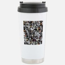 Dead Writers Collage Travel Mug