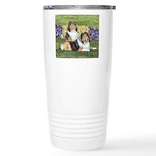 shetlie flower pair Travel Mug