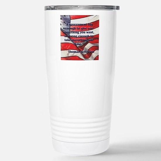 biggovsquare Stainless Steel Travel Mug