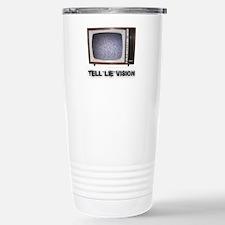 Tell Lie Vision Stainless Steel Travel Mug