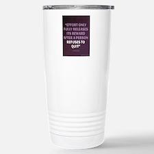 Napoleon Hill Motivatio Stainless Steel Travel Mug