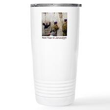Next Year In Jerusalem Travel Mug