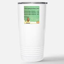 3-DEMOCRATS ARE RATS Travel Mug