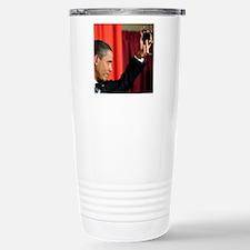 ART COASTER new obama t Stainless Steel Travel Mug