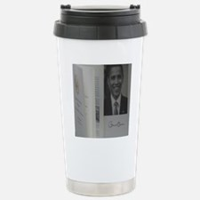 Barack Obama Official P Stainless Steel Travel Mug