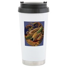 FIN-pheasant-art-ORN Travel Mug