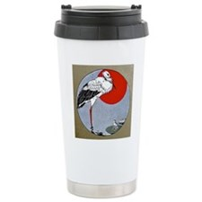 FIN-crane-ornament Travel Mug