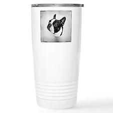 Boston Terrier Travel Coffee Mug